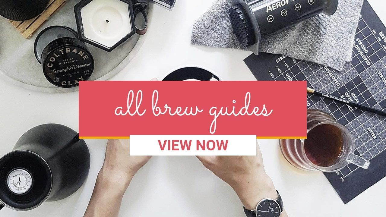 All coffee brew guides